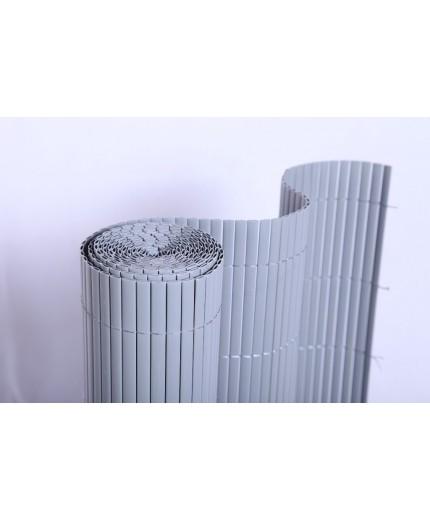 Καλαμωτές PVC διπλής όψης 20mm Γκρι 100Χ300