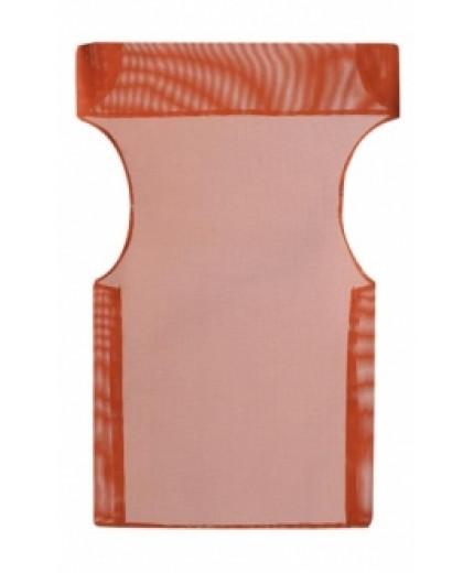 Πανί σκηνοθέτη PVC διάτρητο πορτοκαλί