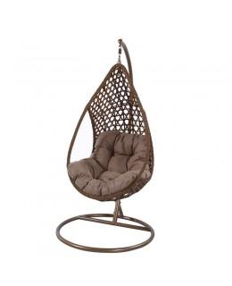Κρεμαστή πολυθρόνα καφέ 65Χ82