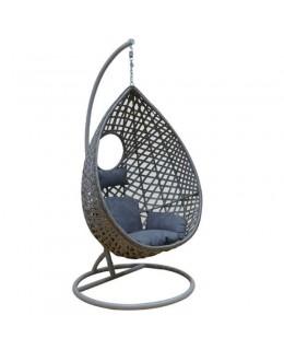 Κρεμαστή πολυθρόνα ανθρακί 96Χ116