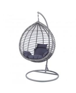 Κρεμαστή Πολυθρόνα ανθρακί 105Χ120