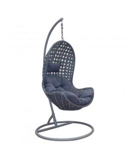 Κρεμαστή Πολυθρόνα ανθρακί 83Χ102