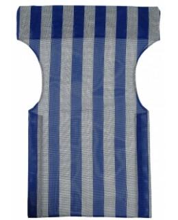 Πανί σκηνοθέτη PVC διάτρητο μπλε άσπρο