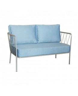Μεταλλικός καναπές 2θέσιος Νο621 ελληνικής κατασκευής