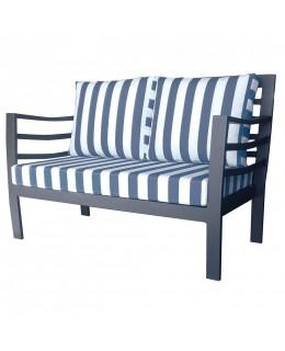 Μεταλλικός καναπές 2θέσιος Νο623 ελληνικής κατασκευής