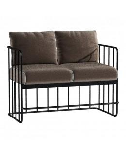 Μεταλλικός καναπές 2θέσιος Νο626-997 ελληνικής κατασκευής