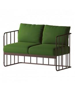 Μεταλλικός καναπές 2θέσιος Νο627-995 ελληνικής κατασκευής