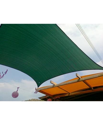 Πανί σκίασης ηλιόπανο 280gr/m2 πράσινο, ρολό 25μΧ2μ ή ανά 5 τρέχοντα μέτρα (2.10€ τμ)