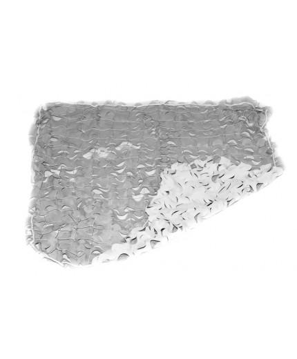 Δίχτυ παραλλαγής σκίασης γκρι/λευκό διπλής όψεως 160gr 200X300cm (5.40€ τμ)