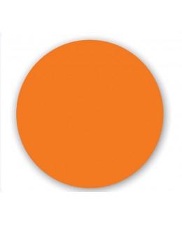 Επιφάνεια τραπεζιού σε πορτοκαλί Φ70 WERSALIT