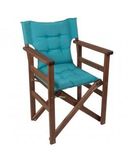 Καρέκλα σκηνοθέτη περαστή με μαξιλάρι φουσκωτό