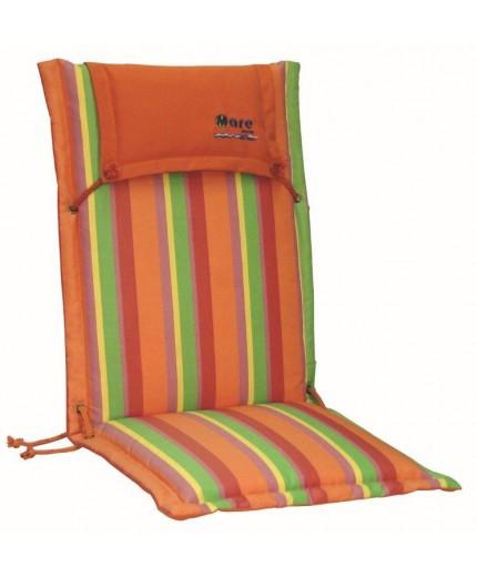 Μαξιλάρι με ψηλή πλάτη ριγέ