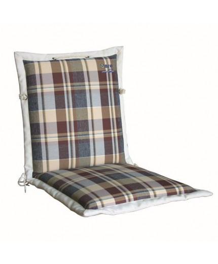 Μαξιλάρι με χαμηλή πλάτη καρό