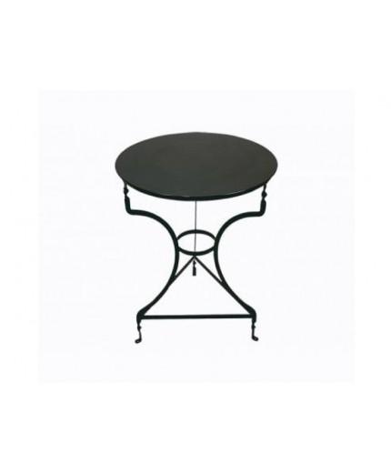 Μεταλλικό τραπέζι παραδοσιακό Φ60