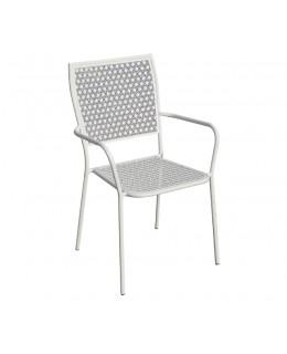 Πολυθρόνα μεταλλική σε ανθρακί ή λευκό