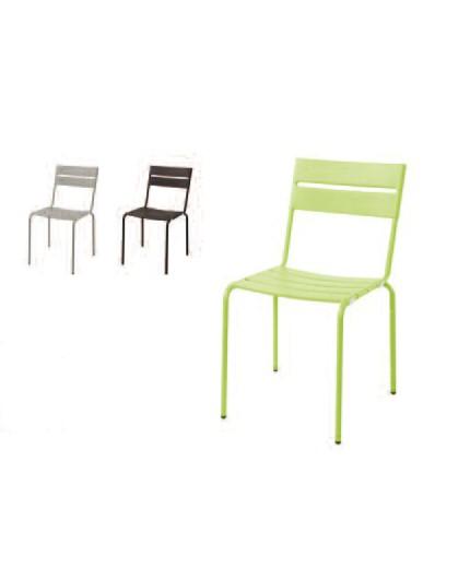 Καρέκλα μεταλλική 3 χρώματα
