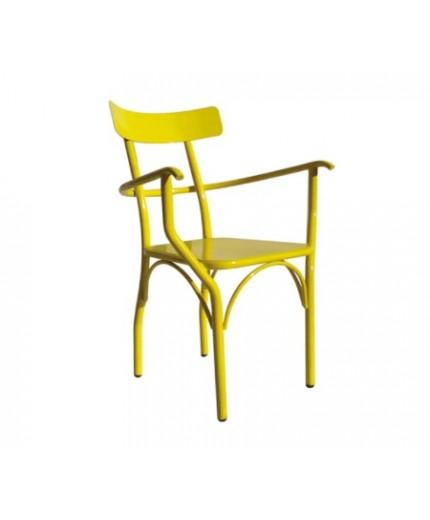 Καρέκλα μεταλλική σε διάφορα χρώματα