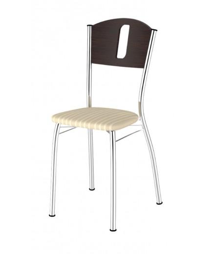 Μεταλλική καρέκλα με ύφασμα