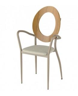 Πολυθρόνα από μέταλλο και ξύλο