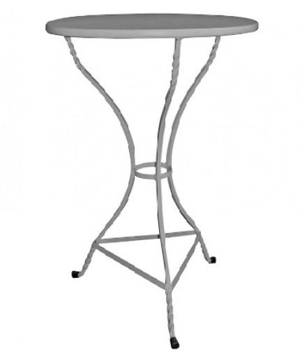Τραπέζι μεταλλικό Φ70