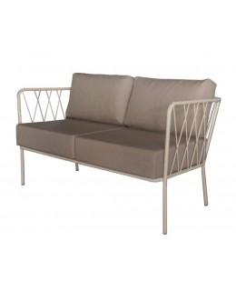 Μεταλλικός καναπές 2θέσιος