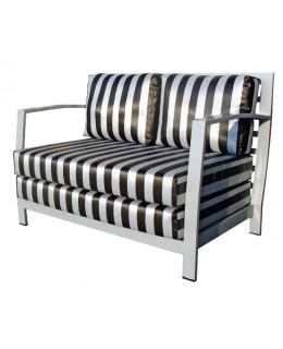 Καναπές 2θέσιος μεταλλικός