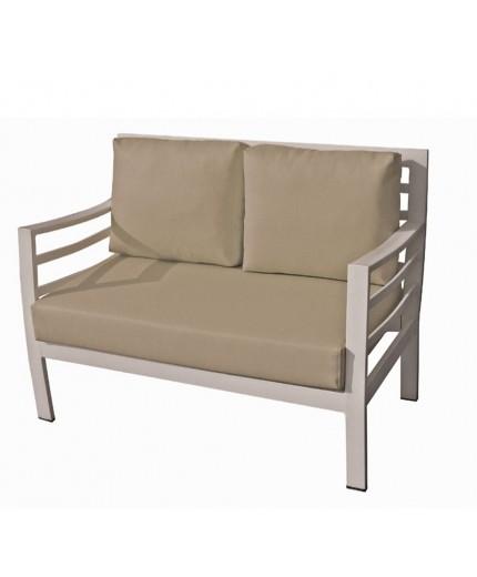Καναπές 2 θέσιος μεταλλικός