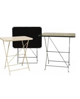 Τραπέζι μεταλλικό 75 Χ 55 πτυσσόμενο