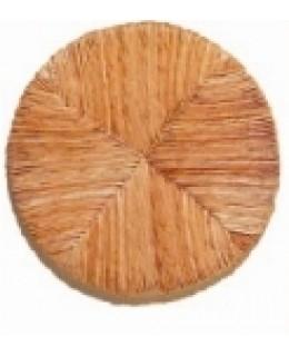 Ψάθα για κάθισμα σκαμπό στρογγυλό Φ36cm