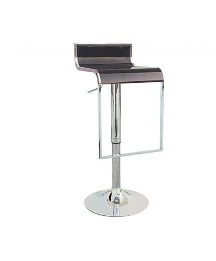 Σκαμπό μπαρ με ρυθμιζόμενο κάθισμα ABS σε 2 χρώματα