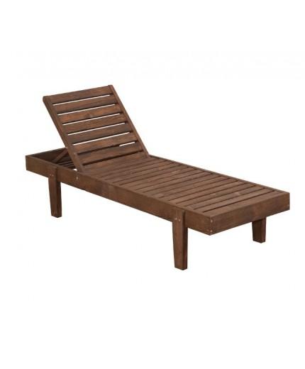 Ξαπλώστρα ξύλινη εμποτισμού