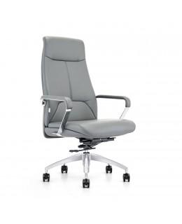 Καρέκλα Γραφείου JL-1601A Μαύρο & Ταμπά Τεχνόδερμα